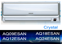 AQ09ESAN - 2.78kW Cooling, and Heating | AQ12ESAN - 3.52W Cooling, and Heating | AQ18ESAN - 5.27kW Cooling, and Heating | AQ18ESAN - 6.80kW Cooling, and Heating